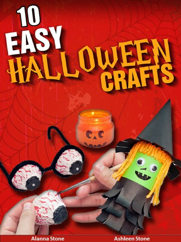 10 Easy Halloween Crafts-An Illustrated Step By Step Guide