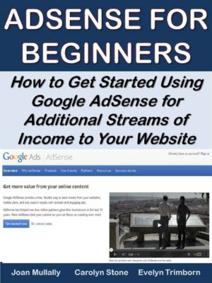 AdSense for Beginners: How to Get Started Using Google AdSense for Additional Streams of Income to Your Website