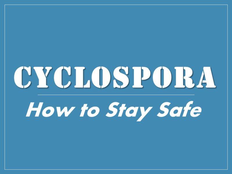 Cyclospora cases more than double in 2017