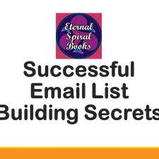 Email List Building ecourse deck - Eternal Spiral Books
