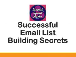 Email List Building ecourse deck - Eternal Spiral Books