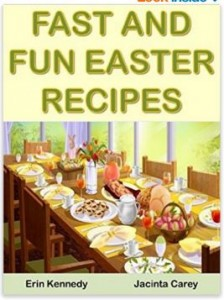 Fast and Fun Easter Recipes Books Cover
