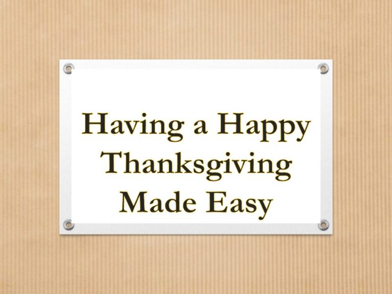 Happy Thanksgiving Video