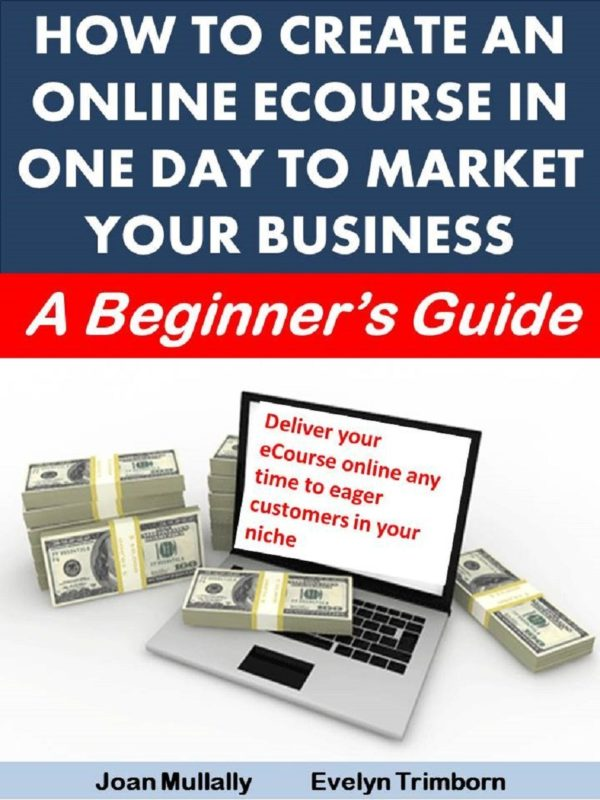 How to Create an Online Ecourse in One Day To Market Your Business: A Beginner's Guide