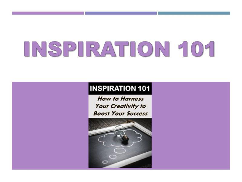Inspiration 101 Video
