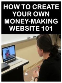 Money-making Website 101