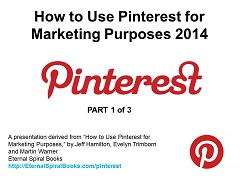 How to Use Pinterest for Marketing Purposes 2014, Part 1 Video Format
