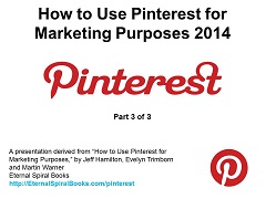 How to Use Pinterest for Marketing Purposes, Part 3 Presentation