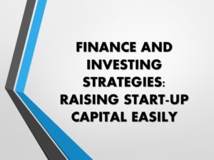 Raising Start-Up Capital Deck