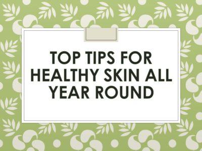 Healthy Skin Deck