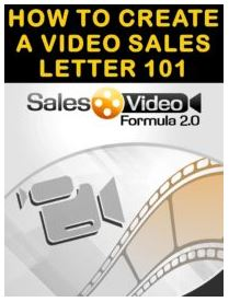 How to Create a Video Sales Letter 101