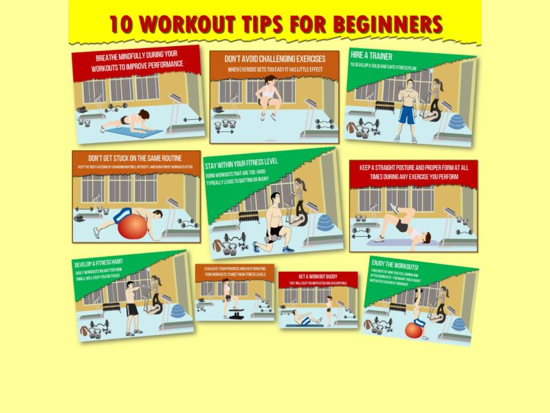 10 Workout Tips for Beginners video
