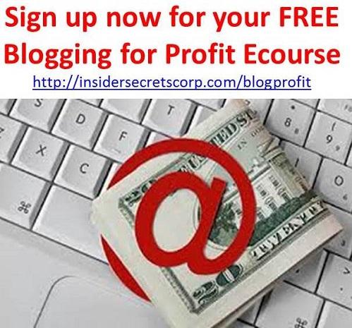 Blogging Profits: Free ecourse
