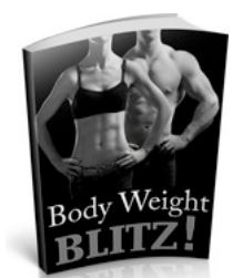 Free Book Friday for your health: Body Weight Blitz