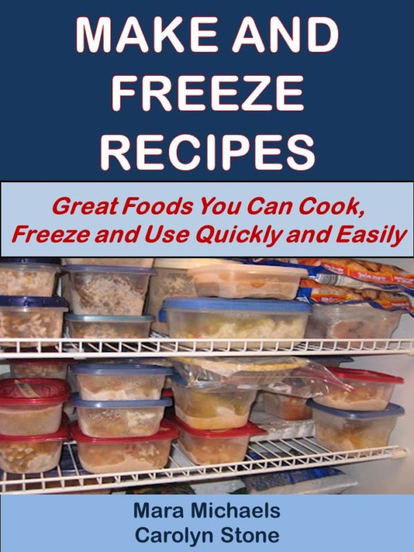 Make and Freeze Recipes-Eternal Spiral Books