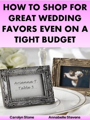 How to Shop for Great Wedding Favors Deck